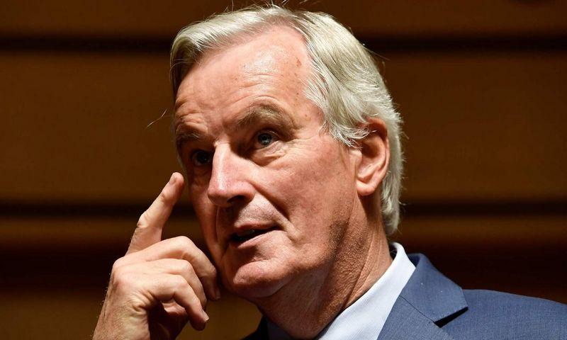"""Michelis Barnier, vyriausiasis ES """"Brexit"""" derybininkas. Johno Thyso (AFP / """"Scanpix"""") nuotr."""
