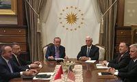 Susitarta dėl120 valandų paliaubų šiaurės Sirijoje
