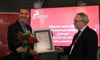 """Apdovanotos Panevėžio regiono """"Gazelės"""""""