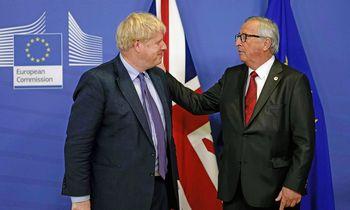 """JK ir ES: mes pasiekėme """"Brexit"""" susitarimą"""