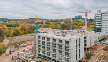 "Pirmojo ""co-living"" Vilniuje dėmesio centre – įmonės"