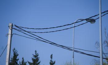 VERTnustatė ESO elektros skirstymo kainų viršutines ribas