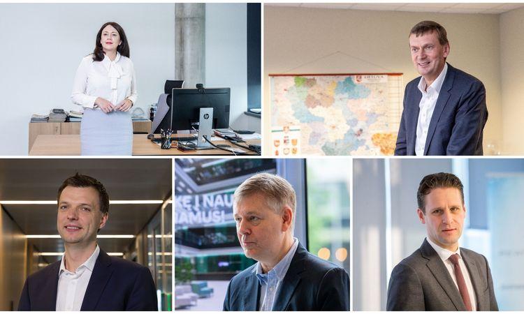 Dažniausiai kalbančių vadovų TOP 10 – trys nauji veidai