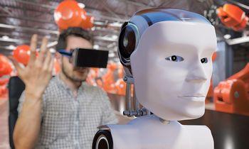 Darbuotojai robotais pasitiki labiau, negu vadovais