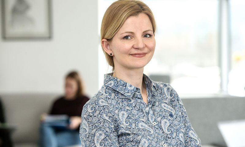 """Alisa Miniotaitė, ISM Vadovų magistrantūros Lyderystės modulio vadovė: """"Tikroji klaida – nepasimokyti ir vėl kartoti tas pačias klaidas."""" Vladimiro Ivanovo (VŽ) nuotr."""