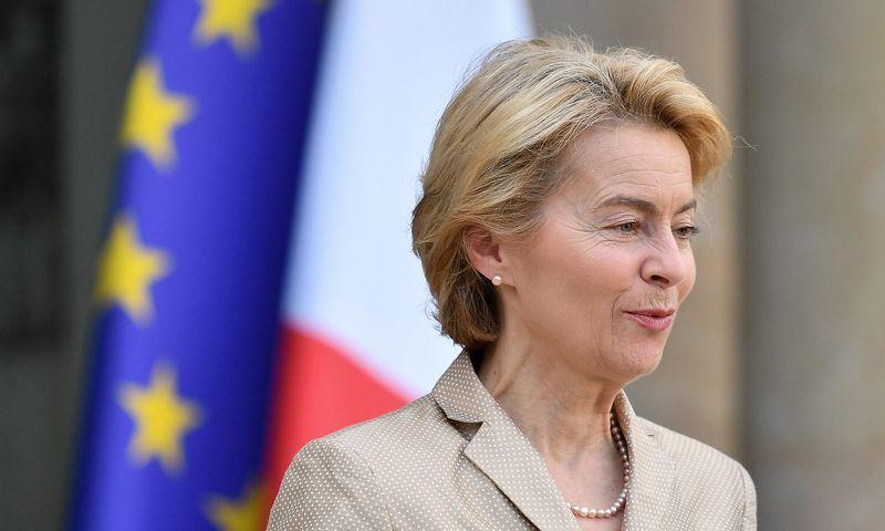 "Ursula von der Leyen, naujoji EK pirmininkė. Julieno Mattios (""Reuters"" / ""Scanpix"") nuotr."