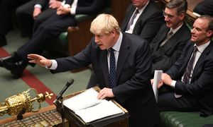 """Didysis šeštadienis britų parlamente – spręsis """"Brexit"""" likimas"""