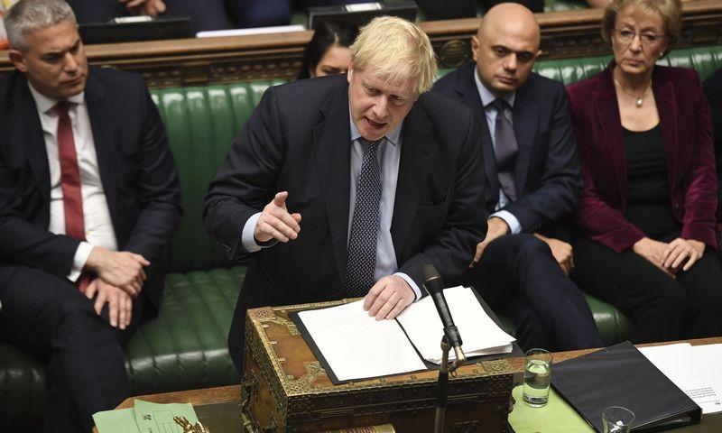 """B. Johnsonas: """"Kartoju – tolesnis atidėjimas pakenktų JK ir mūsų partnerių ES interesams bei mūsų santykiams.""""Jessica Taylor (""""Chine Nouvelle""""/SIPA/""""Scanpix"""") nuotr."""
