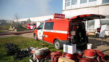 Vidaus reikalų ministrė: Alytus gaus visą reikalingą pagalbą, kol bus užgesintas gaisras