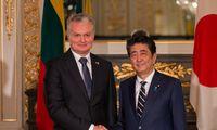 G. Nausėda ragina Japonijos verslą aktyviauinvestuoti Lietuvoje