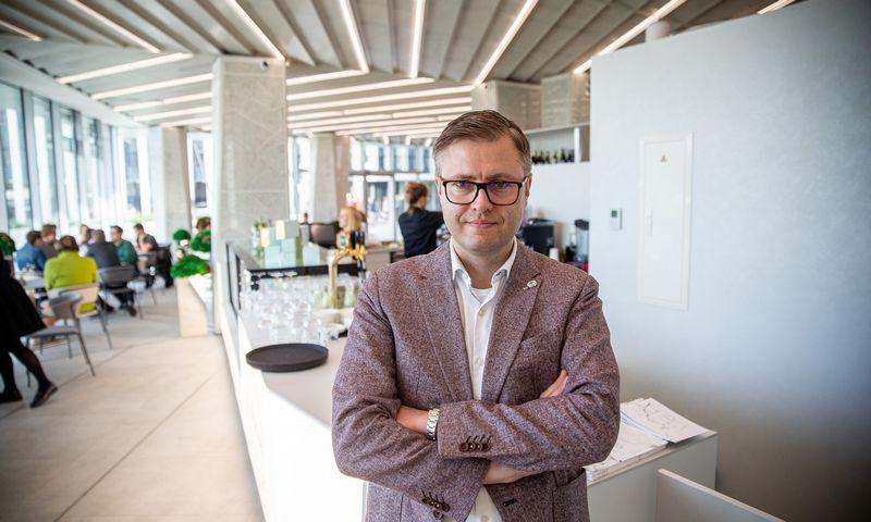 """Gediminas Balnis, UAB """"Amber Food"""" valdybos pirmininkas. Vladimiro Ivanovo (VŽ) nuotr."""
