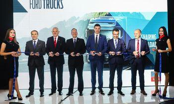 """""""Ford Trucks"""" jau keturiuose """"AUTOKURTO"""" padaliniuose"""