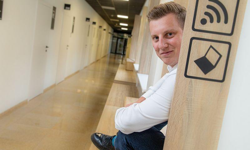 """Jevgenijus Polonis, startuolio """"GoRamp"""" įkūrėjas ir vadovas. Vladimiro Ivanovo (VŽ) nuotr."""