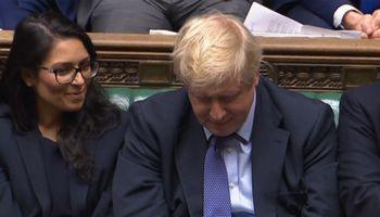 """JK parlamentas atmetė dar vieną B. Johnsono """"Brexit"""" planą"""