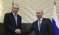 R. T. Erdoganas lankosi pas V. Putiną