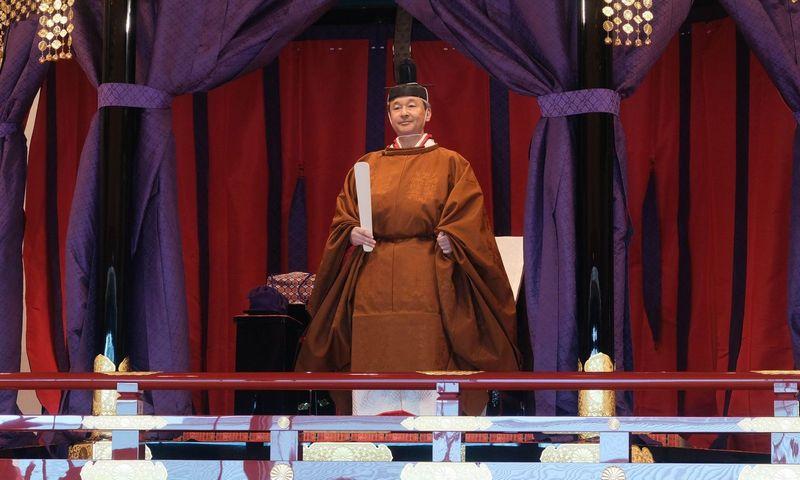 """Japonijos imperatorius Naruhito (""""SIPA"""" / """"Scanpix"""") nuotr."""