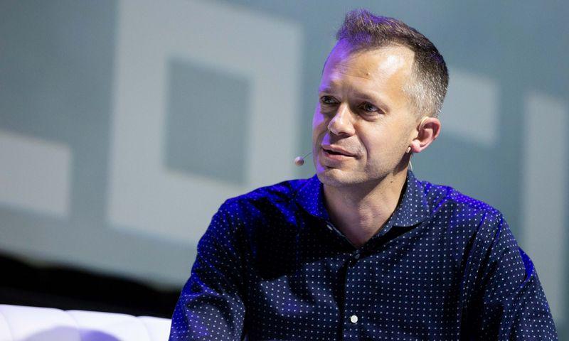 """Andrius Tapinas, """"Laisvės TV"""" įkūrėjas. Žygimanto Gedvilos (""""Scanpix"""") nuotr."""