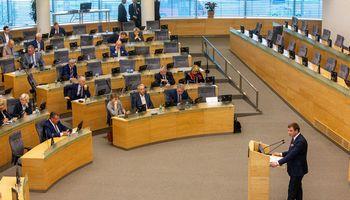 """V. Šapoka teigia, kad 2020 m. biudžetas yra """"racionalus ir subalansuotas"""""""
