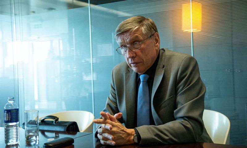 Henrikas Karpavičius, Marijampolės pieno konservai pagrindinis akcininkas ir direktorius. Vladimiro Ivanovo (VŽ) nuotr.