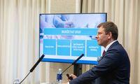 V. Šapoka: nepriėmus mokestinių pataisų teks apkarpyti išlaidas