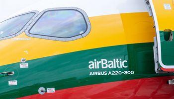 """""""airBaltic"""" keleivių Lietuvoje skaičius augo 18%"""