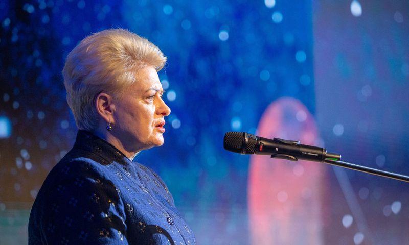 Dalia Grybauskaitė, Lietuvos Respublikos prezidentė. Vladimiro Ivanovo (VŽ) nuotr.