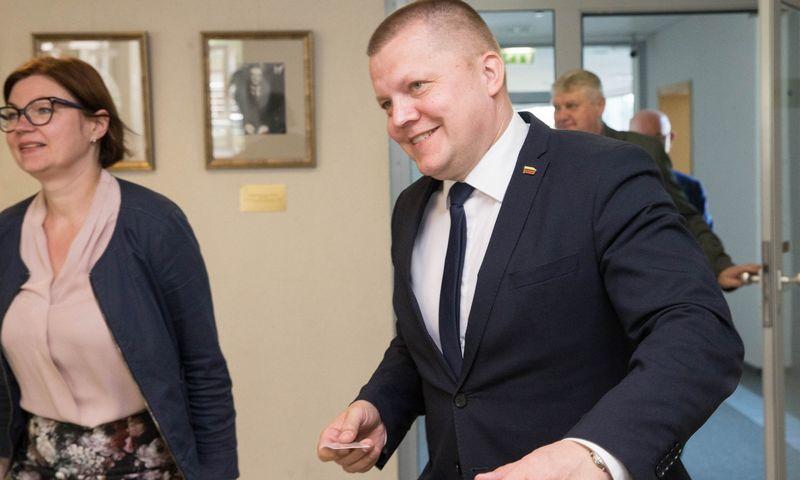 Seimo narys Dainius Gaižauskas. Juditos Grigelytės (VŽ) nuotr.