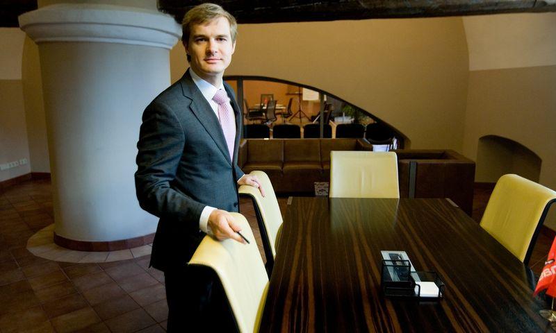 """Vitalijus Šostak, šeimos biuro""""Genus Family Office"""" investicijų strategas. Vladimiro Ivanovo (VŽ) nuotr."""