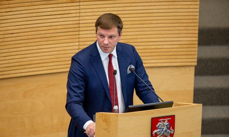 2020 m. biudžetas: V. Šapoka paaiškino, kodėl šešėlis Lietuvoje gerokai didesnis nei Estijoje