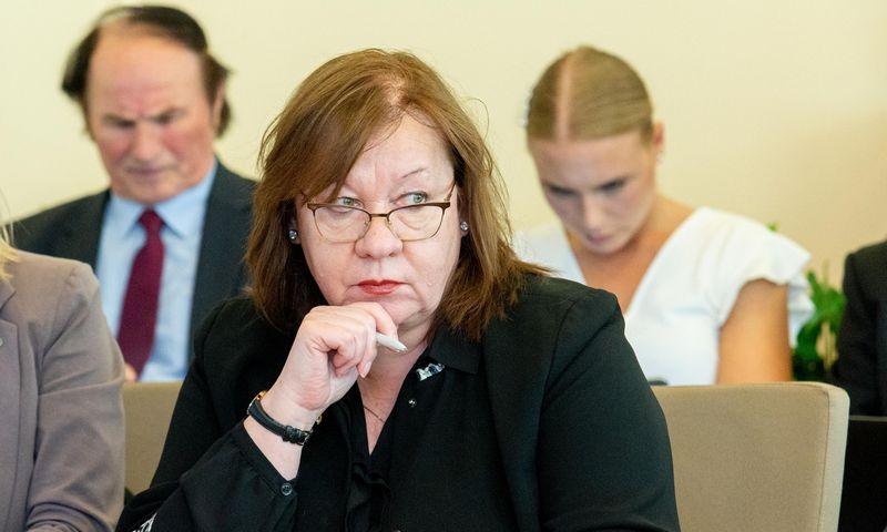 """Rūta Skyrienė, asociacijos """"Investuotojų forumas"""" vykdomoji direktorė: """"Neseniai įgyvendinus gana plačią mokesčių reformą, būtų išmintingiau luktelėti ir pažiūrėti, kas efektyviai veikia, o kas ne."""" Juditos grigelytės (VŽ) nuotr."""
