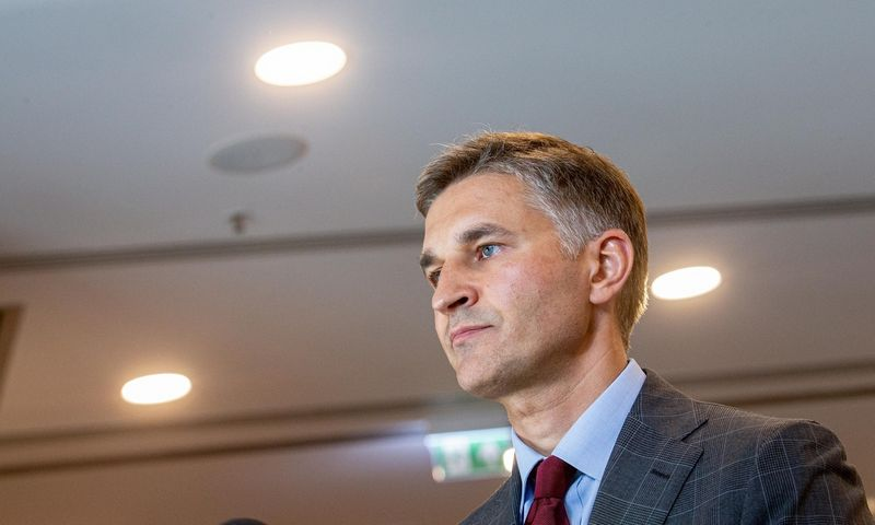 Jaroslavas Neverovičius, prezidento vyriausiasis patarėjas, aplinkos ir infrastruktūros grupės vadovas.  Juditos Grigelytės (VŽ) nuotr.