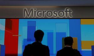 """Dviženkle išraiška augantis """"Microsoft"""" pateisino investuotojų lūkesčius"""