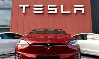 """""""Tesla"""" nutildė skeptikus: netikėtai uždirbo pelno, akcijos pašoko 21%"""