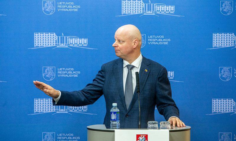 Saulius Skvernelis, Lietuvos ministras pirmininkas Vyriausybėje. Vladimiro Ivanovo (VŽ) nuotr.