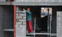 Trečiojo ketvirčio statybos viešųjų pirkimų vertėmažėjo 25%