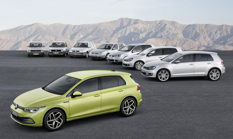 """Volkswagen"" pristatė 8-osios kartos ""Golf"" modelį. ""Volkswagen AG"" nuotr."