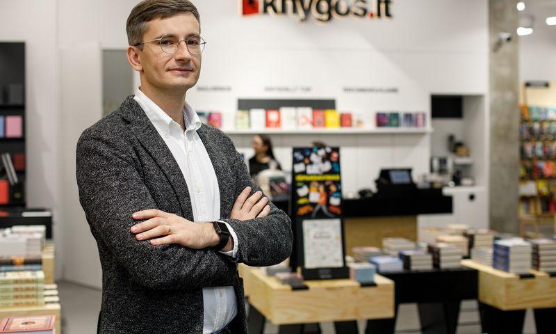"""Dovydas Pauliukonis, """"Knygos.lt"""" vadovas. Bendrovės nuotr."""