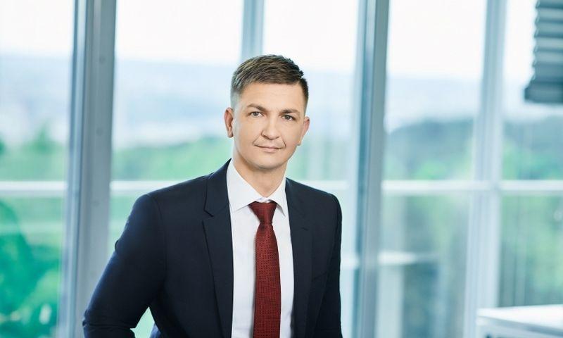"""Iš """"Vilniaus prekybos"""" komunikacijos komandos traukiasi Vaidotas Cucėnas. Asmen. nuotr."""