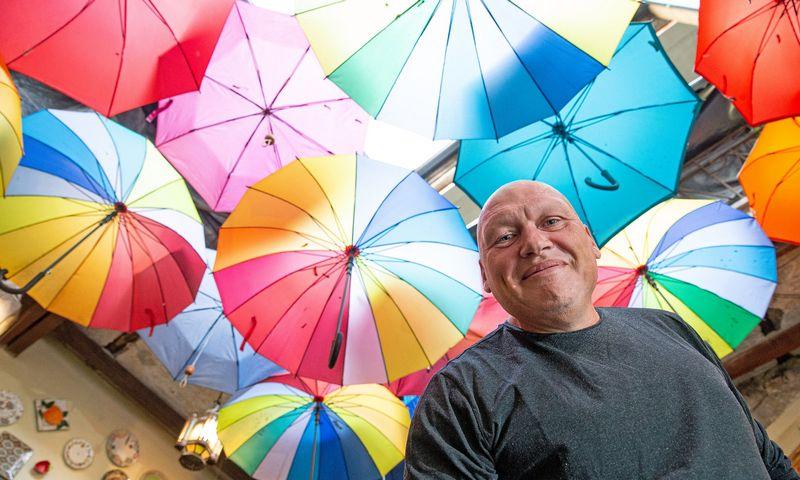 Arvydas Valeika, keturių Vilniaus restoranų savininkas, neabejoja, kad sėkmė ateina tik tada, kai sukuri išskirtinę koncepciją. Vladimiro Ivanovo (VŽ) nuotr.