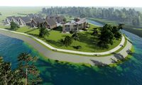 Ant upės kranto Šventojoje rengiasi statyti poilsio pastatų kompleksą