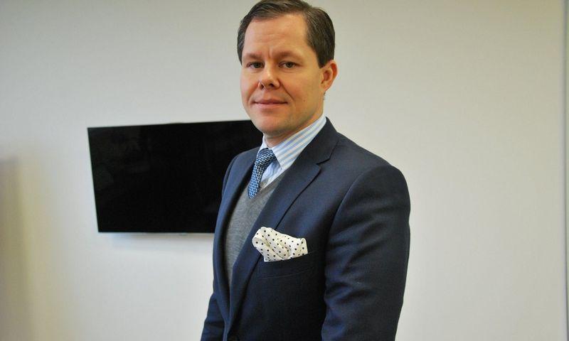"""Martynas Ugianskis, UAB """"Dirbtinis pluoštas"""" generalinis direktorius ir akcininkas: """"Šiemet augimo nebus, veikiausiai bus užfiksuotas pardavimų kritimas. Kitąmet tikimės augti maždaug 10%."""" Indrės Sesartės nuotr."""