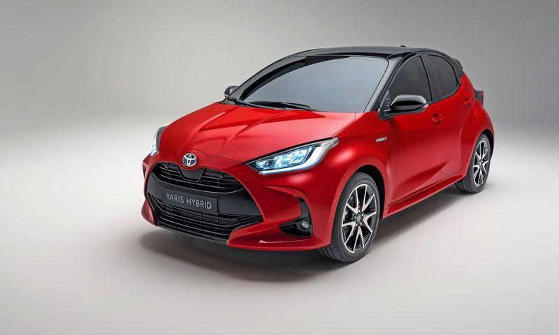 """""""Nuobodžių automobilių"""" atsisakantis koncernas sukūrė akį traukiantį, veržlų dizainą. """"Toyota Motor Co."""" nuotr."""