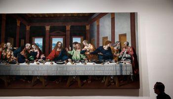 "L. da Vinci paroda Paryžiaus Luvre: be ""Salvator Mundi"", bet su skaitmenine""Mona Lisa"""