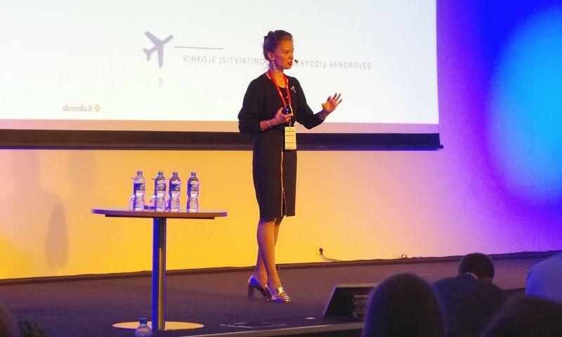 """Rasa Levickaitė, """"Skrendu.lt"""" lėktuvo bilietų pardavimo platformą valdančios įmonės """"Baltic Tours Group"""" tarptautinių projektų vadovė."""