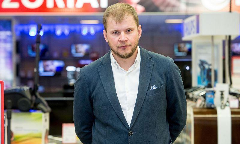 """Eduardas Grybovas, """"Baltic Research Center Group"""" atstovybės Lietuvoje vadovas. Juditos Grigelytės (VŽ) nuotr."""