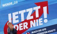 """Kraštutiniai dešinieji """"AfD"""" stiprina savo pozicijas Rytų Vokietijoje"""