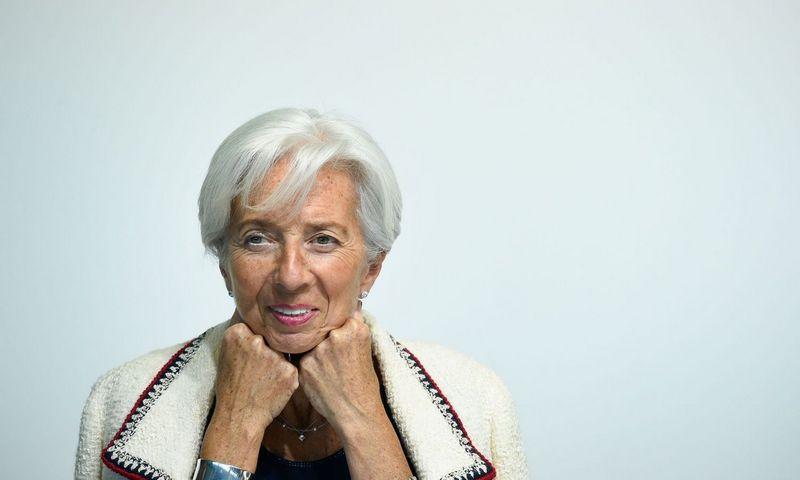 """Naujoji ECB vadovė Christine Lagarde. Johno Thyso (""""Reuters""""/ AFP) nuotr."""
