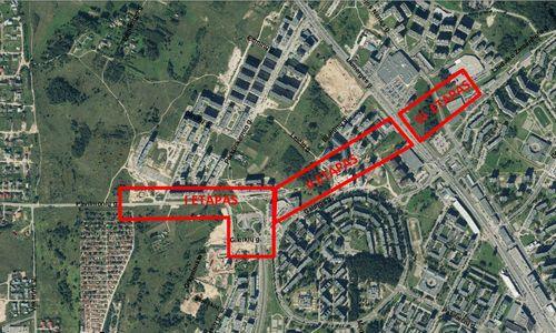 Vilniuje planuoja jungtį tarp Vakarinio aplinkkelio ir Ukmergės g.