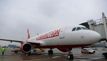 """""""Laudamotion"""" pradėjo skrydžius tarp Vilniaus ir Vienos"""
