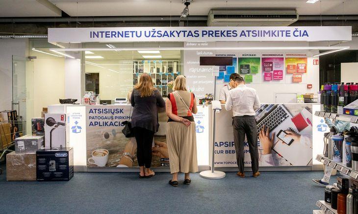 Lankomiausių e. parduotuvių TOP pozicijas stiprina tradiciniai prekybos milžinai